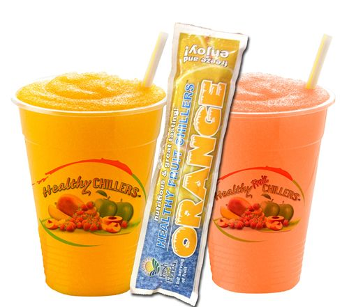 Healthy Chillers the Perfect Kids Menu Beverage