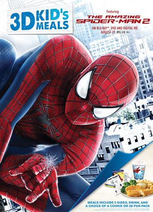 Captain D's Nets Exclusive THE AMAZING SPIDER-MAN 2 In-Store Promotion