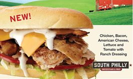 New Bacon Ranch Chicken Philly Cheesesteak Joins South Philly Cheesesteaks & Fries Menu for a Limited Time