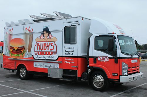 New Ruby's Diner Food Truck Serves up OC and LA
