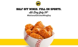 Buffalo Wild Wings Celebrates National Chicken Wing Day with Half-Priced Wings Across U.S. & Canada