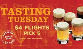 "Rock Bottom Launches ""Tasting Tuesday"" and Hosts Craft Beer Appreciation Events to Celebrate Unique Beer Styles with Guests"