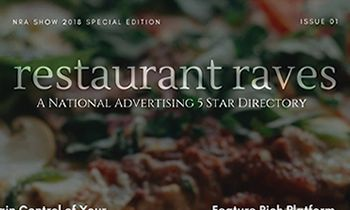 Five Star Restaurant Review Directory Site, Restaurant Raves, Redefining Advertising
