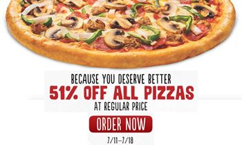 Toppers Pizza Makes Summer Even Better with 51 Percent Off Deal