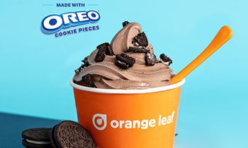 Orange Leaf Partners with Oreo for Oreo's Stay Playful Promotion