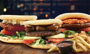 Daphne's Debuts New Pita Burgers, Seasoned Fries, & More for a Limited Time