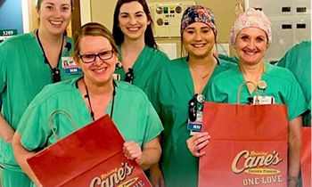 Raising Cane's Continues Support for Heroes on the Frontlines