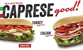The Limited-Time-Only Subs from Cousins Subs are Caprese Good
