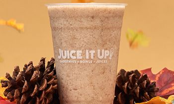 """""""Fall"""" Head Over Heels for Juice It Up!'s New Horchata Smoothie"""