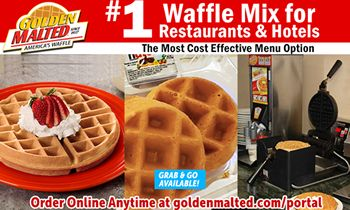 #1 Waffles for Restaurants – Serve Golden Malted Waffles – America's Favorite