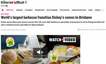 World's Largest Barbecue Franchise Heads Down Under