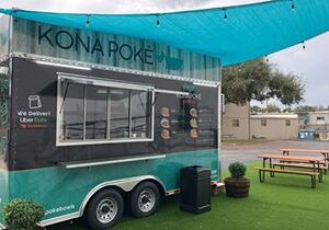 Kona Poké Express Food Trailer Celebrates Grand Opening at Quantum Leap Winery in Orlando This Saturday, December 19
