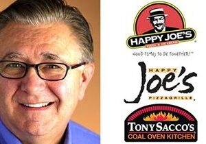 Tom Sacco – New CEO, Chief Happiness Officer and President of Happy Joe's Pizza & Ice Cream Parlors and Tony Sacco's Coal Oven Kitchen