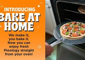 Pieology's Bake at Home Kit – Perfect Timing for Pizza Lovers