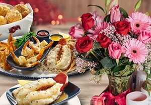 Red Lobster Sweetens Valentine's Day with a Flowery Deal, Delicious At-Home Recipes and Cheesy E-Cards