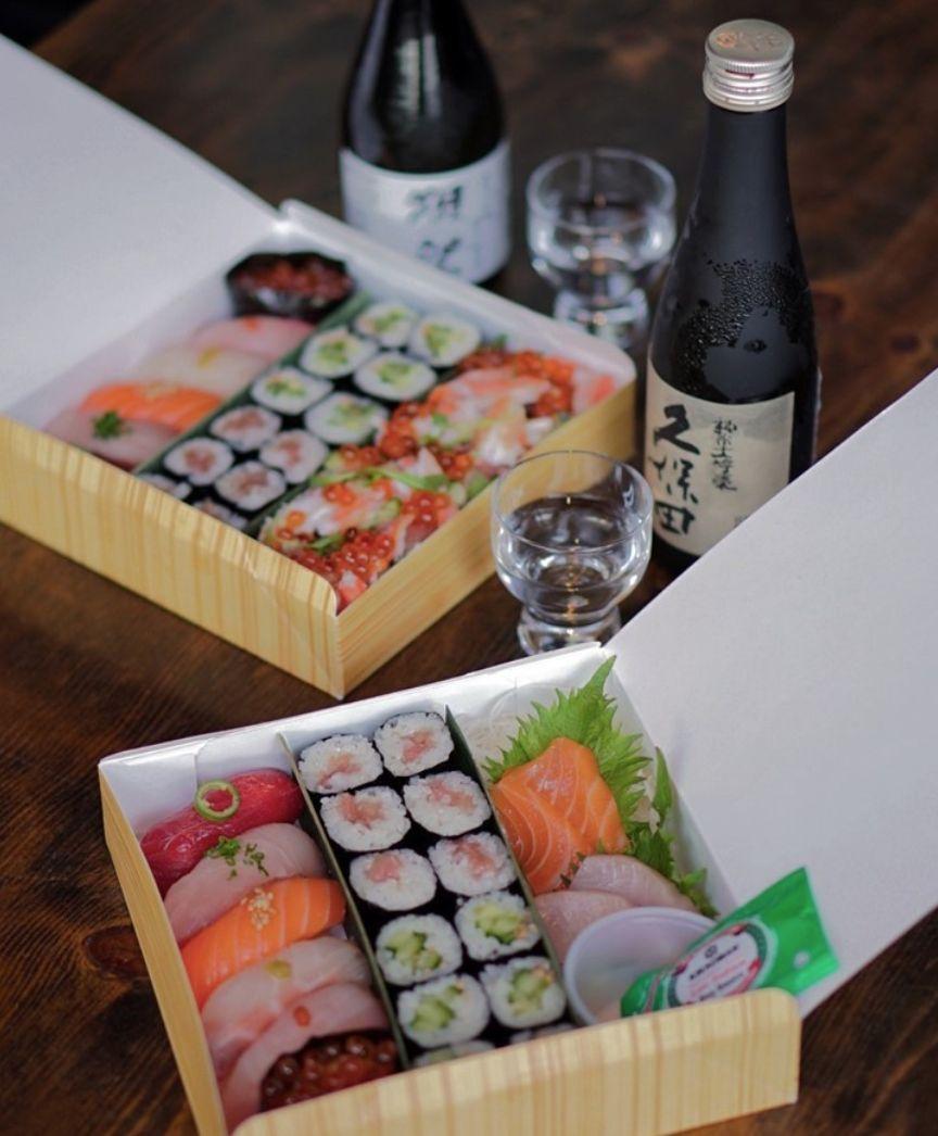 Robata JINYA Introduces New Premium To-Go Sushi Boxes