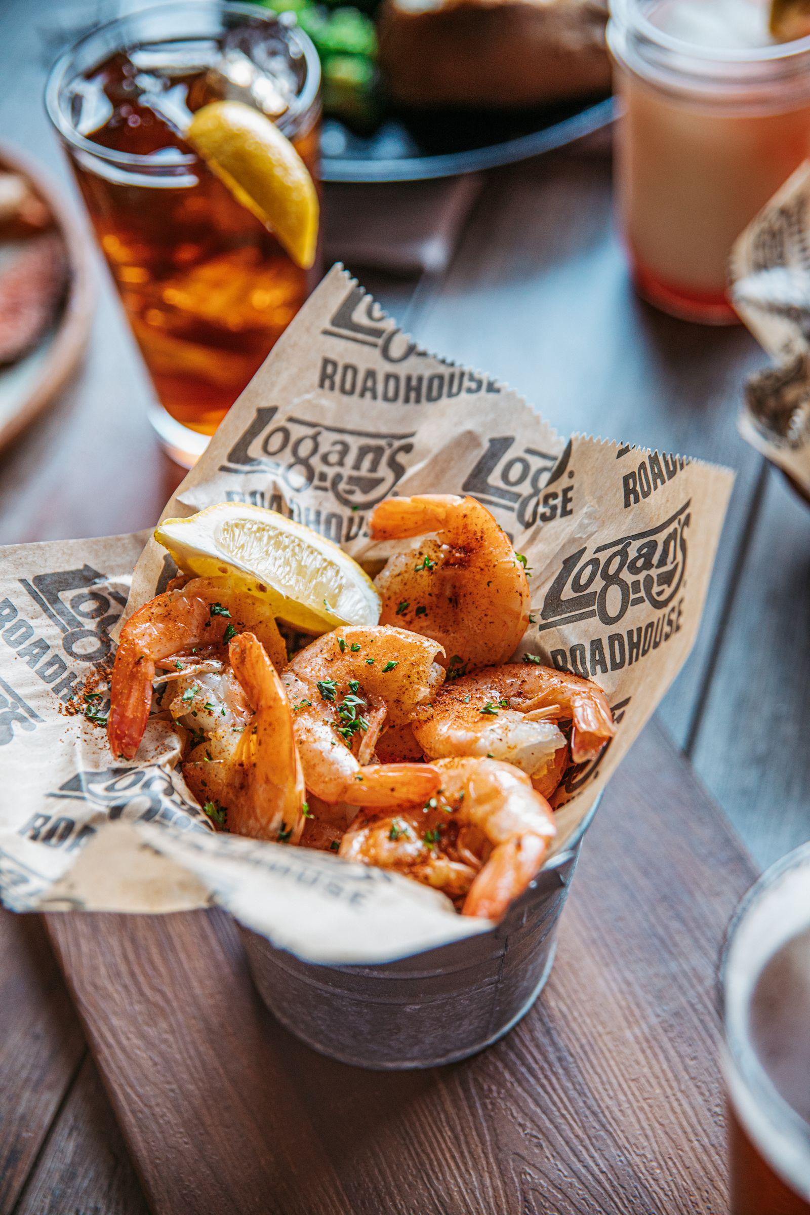 Logan's Roadhouse Peel 'N Eat Shrimp