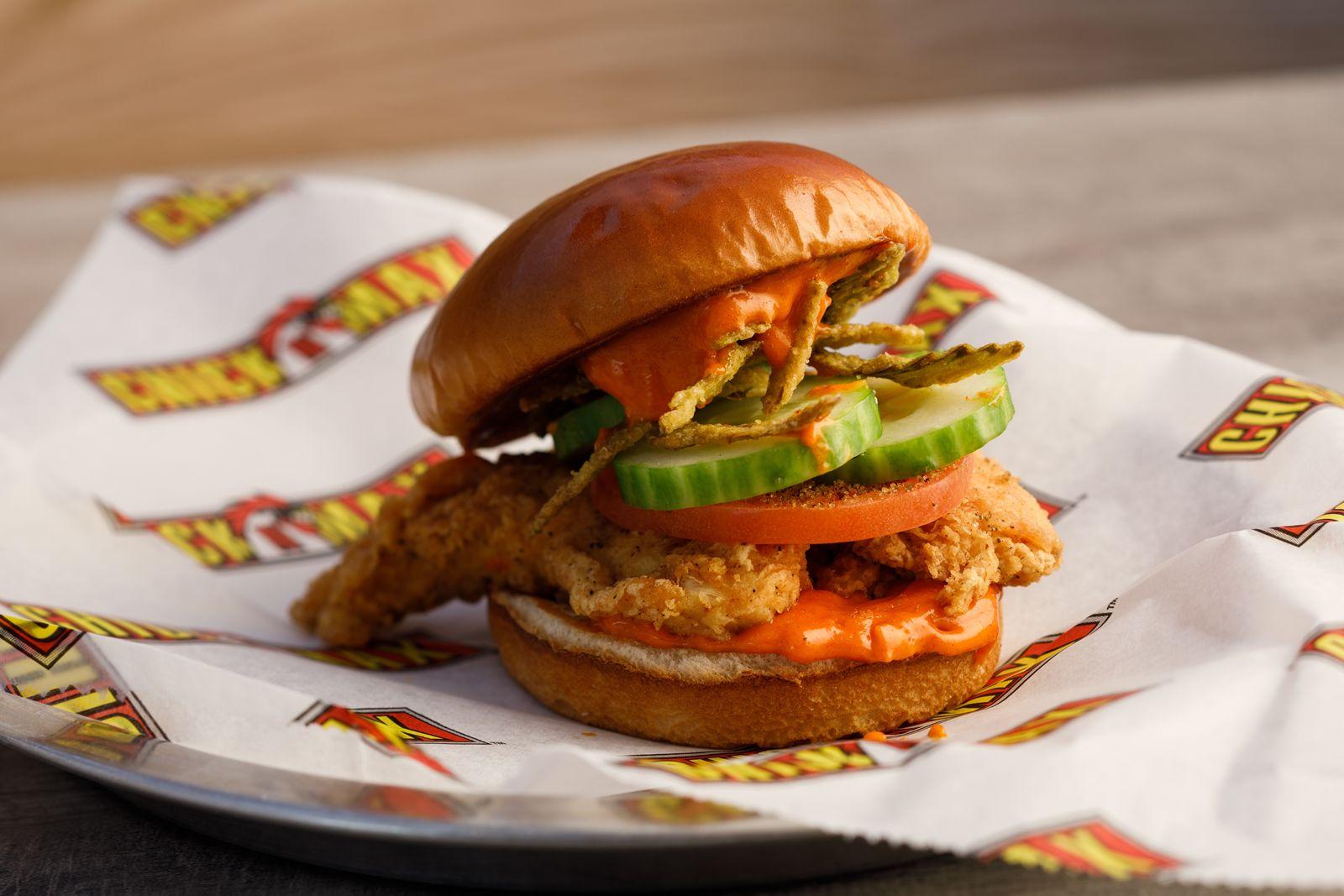 Chick N Max Sweet & Spicy Chicken Sandwich