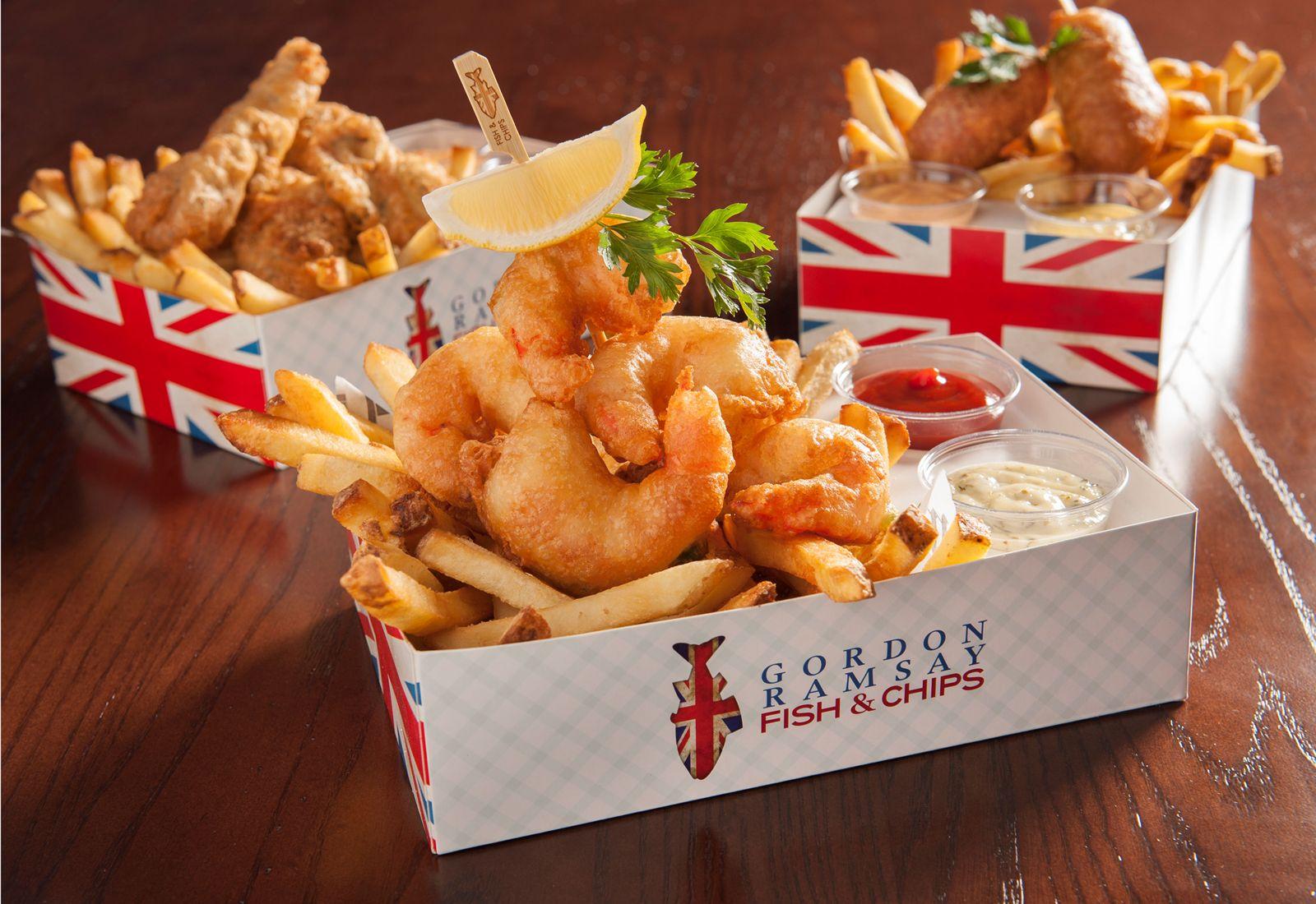 Gordon Ramsay Fish & Chips Dirty Chips
