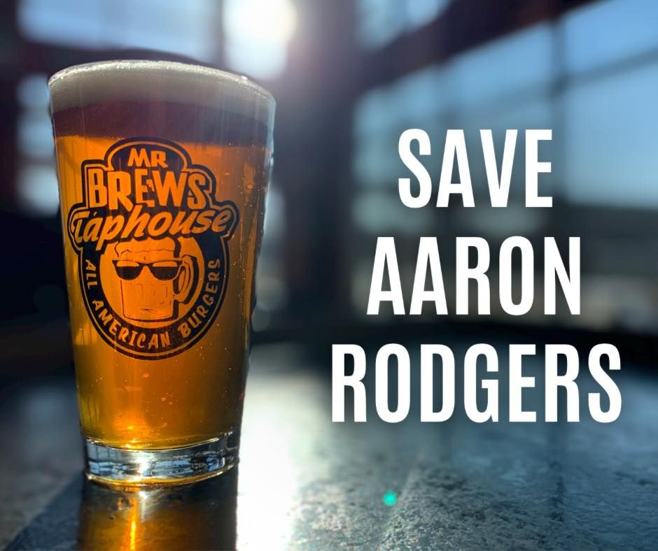 Mr Brews Taphouse Offers Aaron Rodgers Free Burgers & Brews for Life!