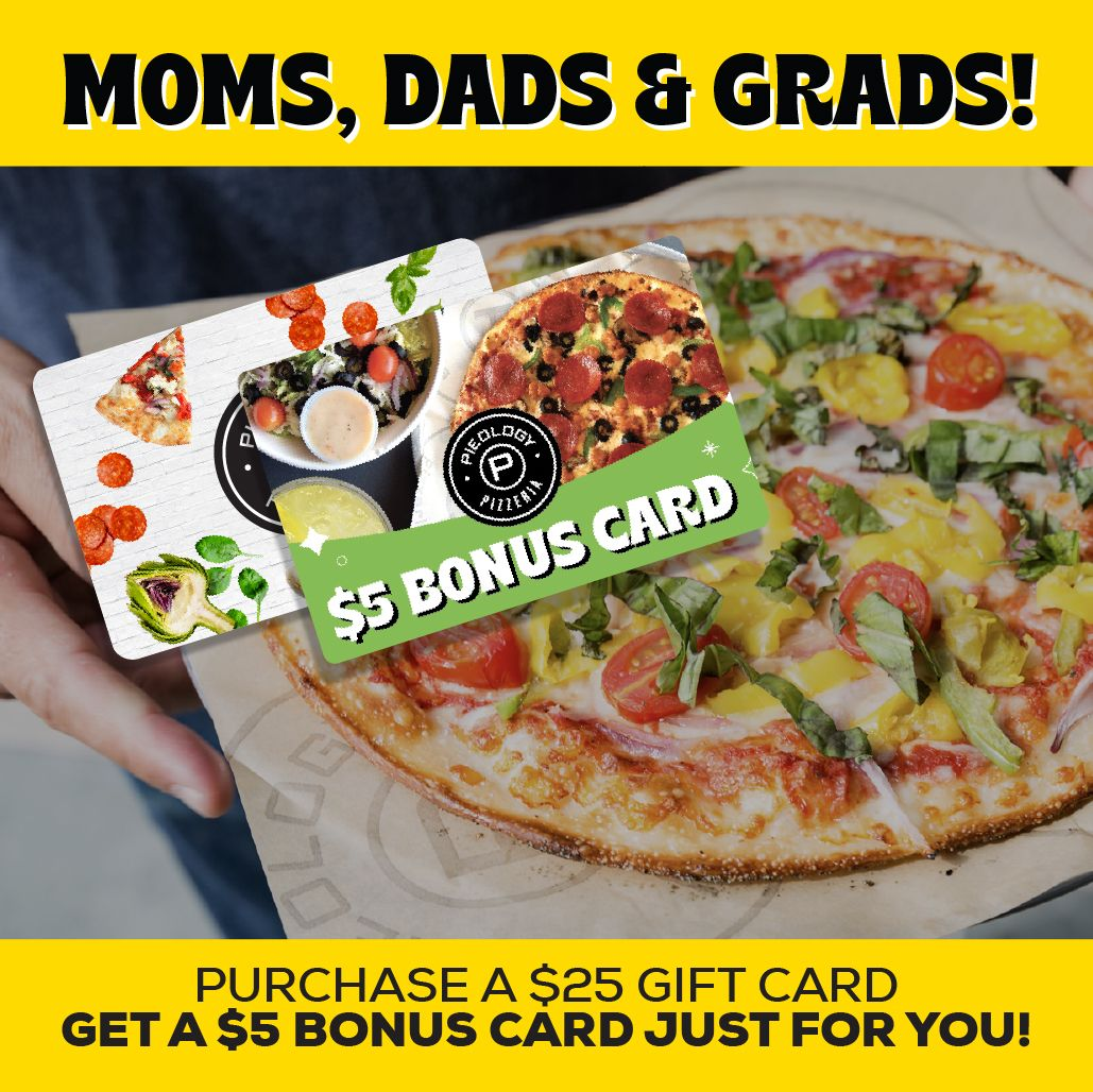 Pieology Thanks This Year's Grads with A Special Pizza Offer