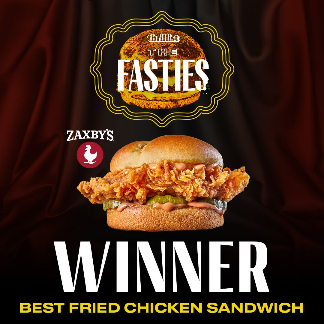 Zaxby's Signature Sandwich Tops Thrillist's List