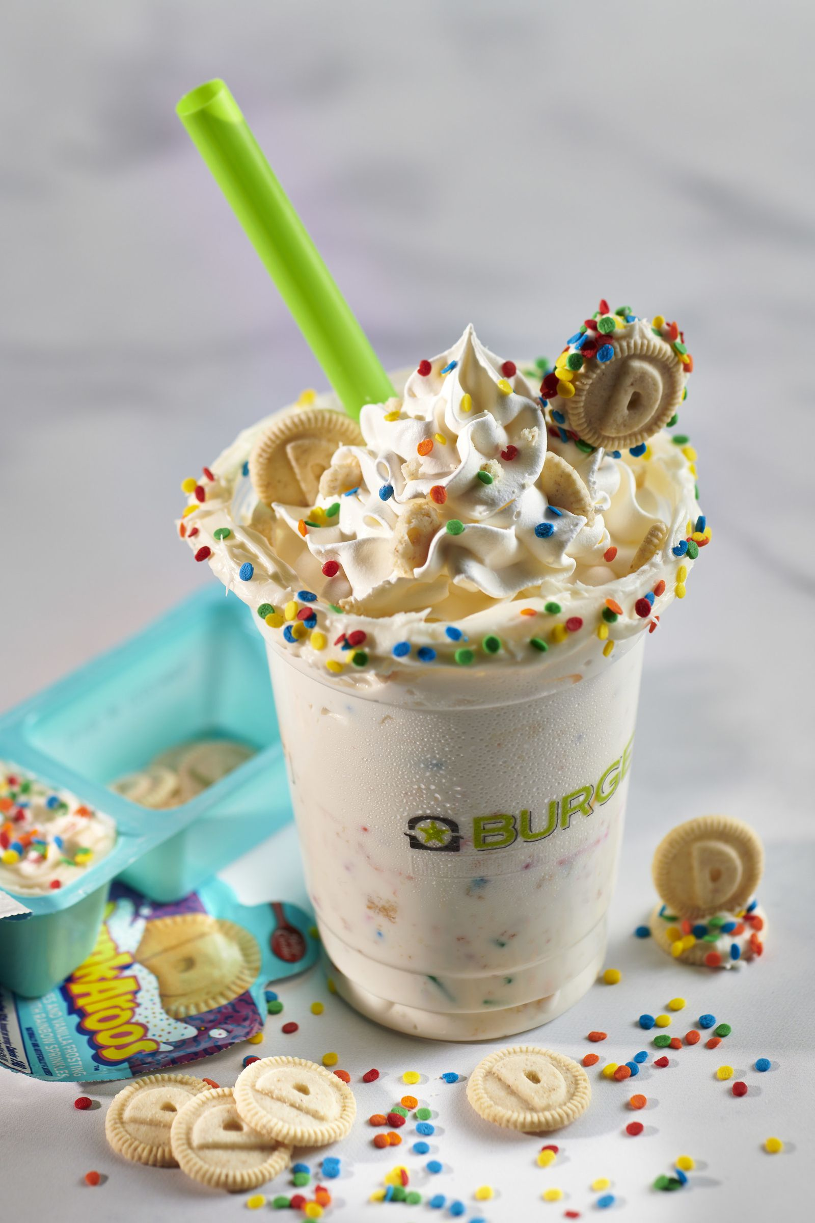 """BurgerFi Offers a Sweet """"Blast from the Past"""" with a Limited Dunkaroos Shake"""