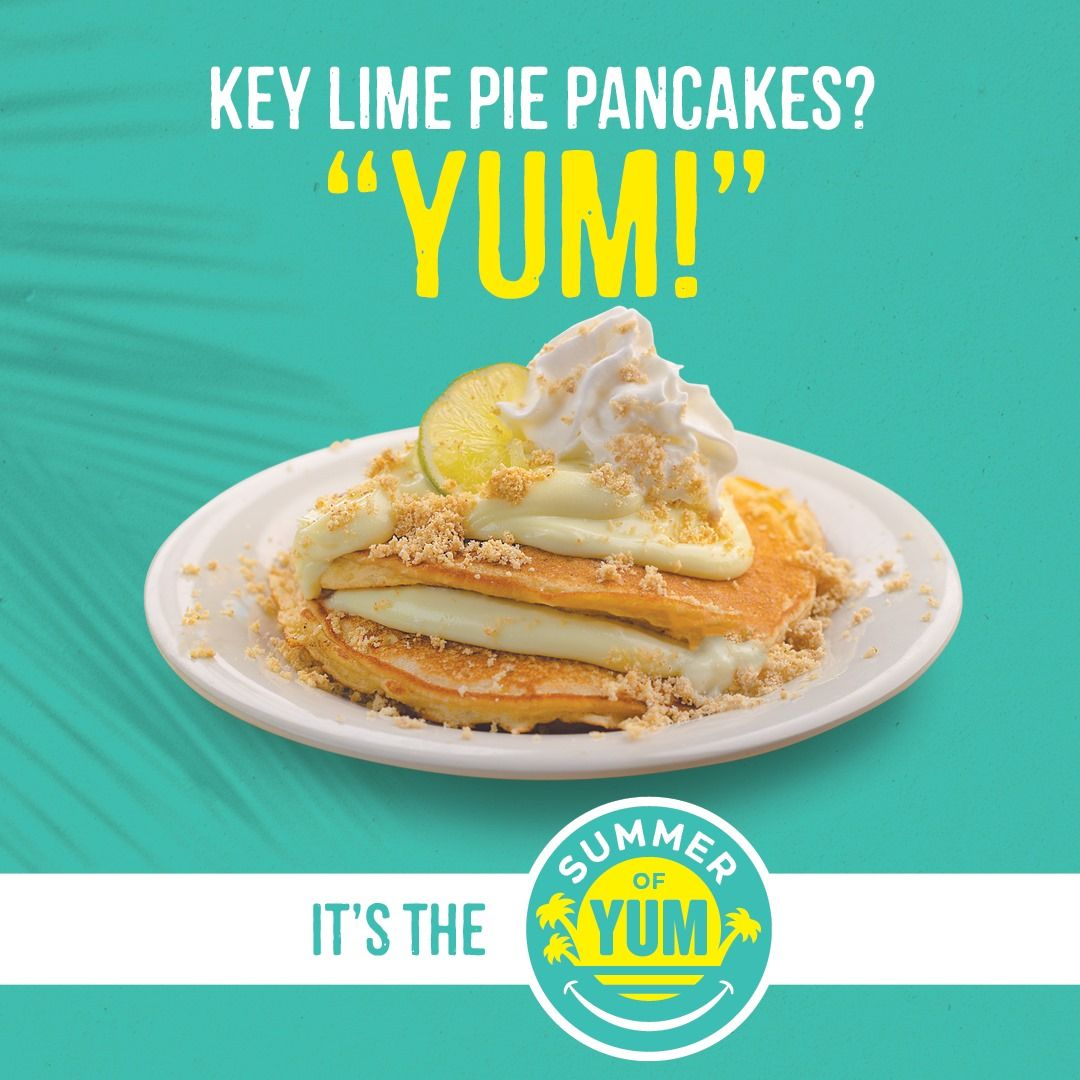 Eggs Up Grill Key Lime Pie Pancakes