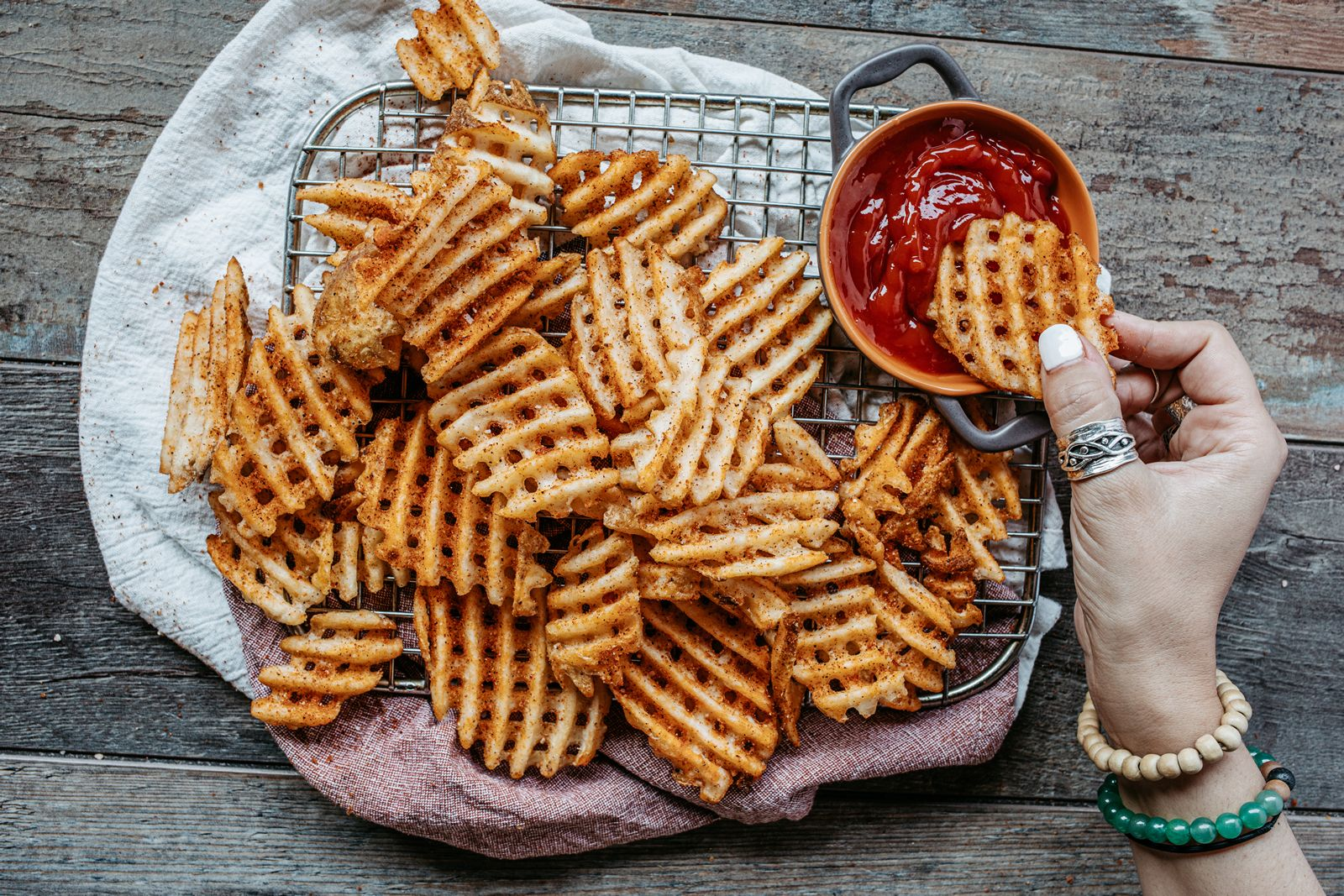 Celebrate Summer The Roadhouse Way with Logan's New Waffle Fries
