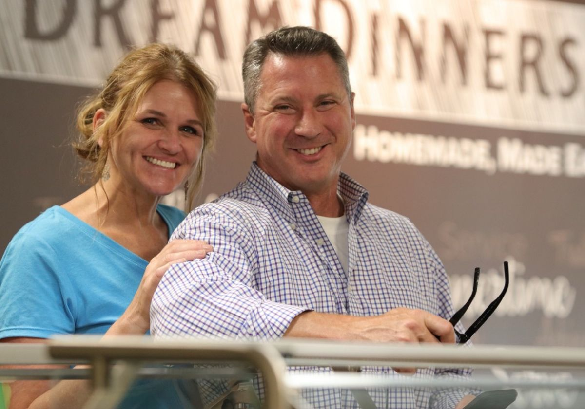 Michele and Cameron Byers, owners of the new Dream Dinners franchise in Castle Rock, Colorado.