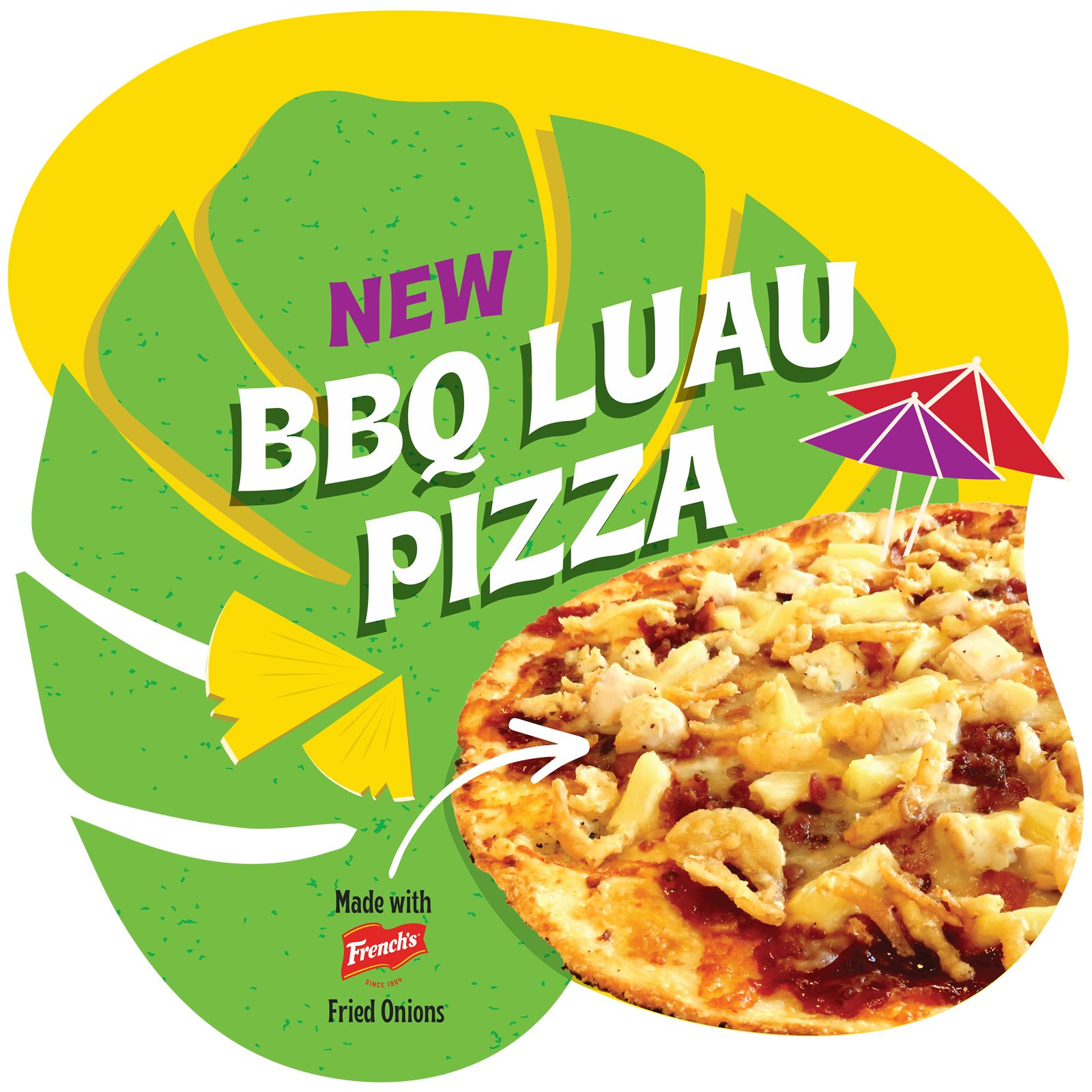 Pieology Releases Limited-Time BBQ Luau Pizza and Topping to Their Lineup