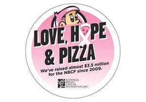 Hungry Howie's Partners With National Breast Cancer Foundation for Its Twelfth Annual Love, Hope & Pizza