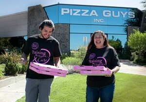 Pizza Guys Kicks off Raising Dough for a Cure Campaign