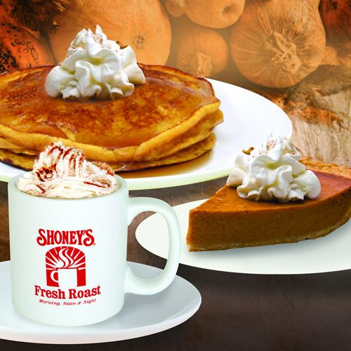 Shoney's Offers FREE Pumpkin Spice Pancakes with Any Legendary Breakfast Buffet Purchase