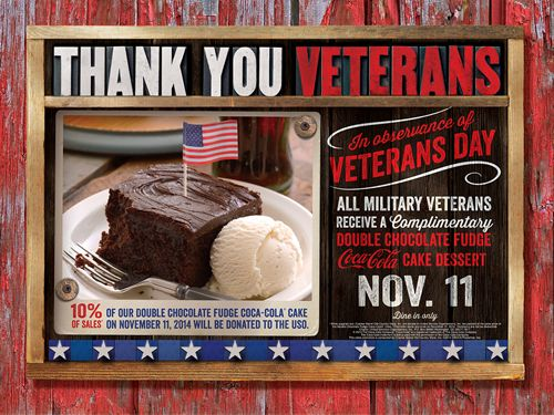 Cracker Barrel Old Country Store Honors Veterans