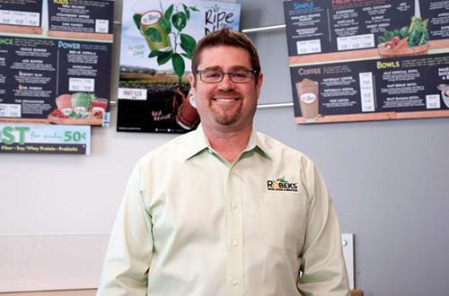 Franchisee takes the helm for Robeks Fresh Juice & Smoothie Bar franchise