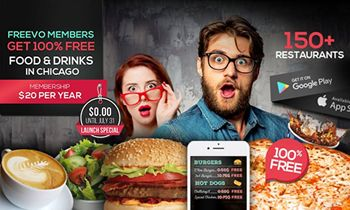 Freevo App Serves Up Free Food & Drinks Around Chicago