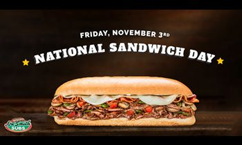 Jon Smith Subs Offers BOGO Deal for National Sandwich Day