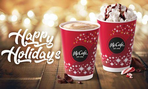 McCafé Seasonal Favorites Return to McDonald's