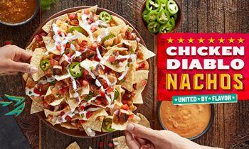 QDOBA's New Chicken Diablo Nachos Turn Up the Heat on Flavor