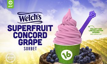 16 Handles Launches Welch's Superfruit Mighty Concord Grape!