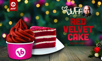 16 Handles Launches New Flavor: Duff's Red Velvet Cake