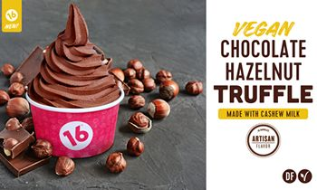 16 Handles Creates a New Alternative to Frozen Yogurt with Their Cashew Milk Based, Vegan Soft Serve