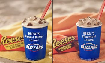 The DQ Brand Introduces Two New Blizzard Treats Inspired By Limited-Edition Reese's Peanut Butter Lovers & Reese's Chocolate Lovers Cups