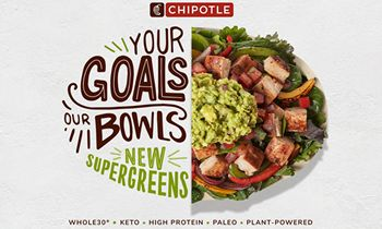 Chipotle Innovates Lifestyle Bowls By Adding Supergreens Salad Mix And Whole30 Compliant Chicken