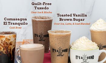It's A Grind Coffee House's Winter Menu Offers Both Guilt-Free and Indulgence