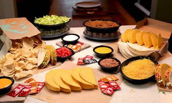 Taco Bell Unveils New At Home Taco Bar – Just In Time For Tuesday's Cinco De Mayo Celebrations