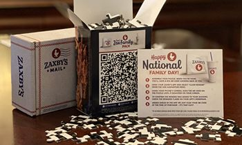 Zaxby's Gives Away Jigsaw Puzzles for National Family Day