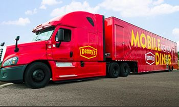 """Denny's Kicks Off Mobile Relief Diner """"Heroes Tour"""" to Serve Hot Meals to Homeless Veterans in Need"""