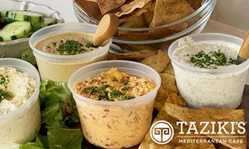 Taziki's Appetizer Bundle Debuts This Holiday Season